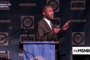 Checking Carson's U.S. history