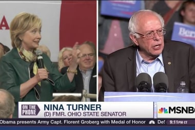 Nina Turner drops Hillary for Bernie