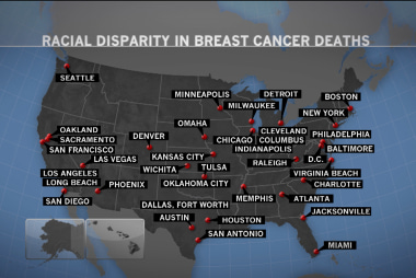 Growing disparity in breast cancer treatment