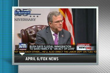 Jeb Bush emerging as GOP mainstream favorite?