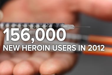 Heroin epidemic 'out of control'