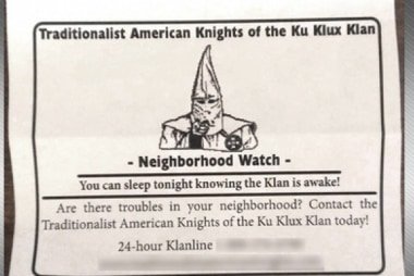 KKK looking to rebrand itself