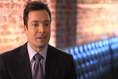 Jimmy Fallon stepping into 'The Tonight Show'