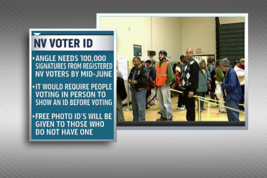 Voter ID amendment being pushed in Nevada