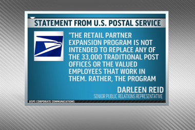 New postal service eliminating jobs?