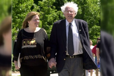 Sanders' biggest supporter: His wife Jane
