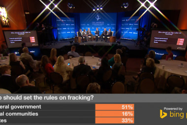 Who should set the rules on fracking?