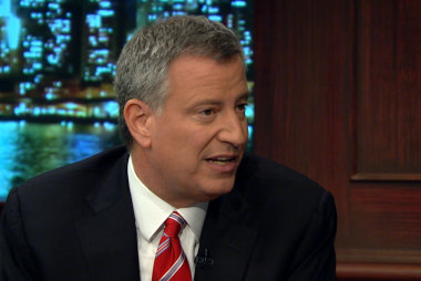 De Blasio: My mom and I experienced hard...