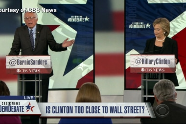 Clinton, Sanders on campaign finance