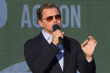 Leonardo DiCaprio: 'The world is watching'