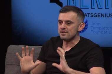 Vaynerchuk: Success comes from natural talent