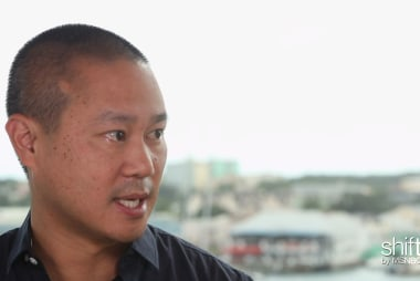 Zappos CEO living in trailer park?