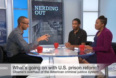 "Prisoners freed ""Gotta get more..."