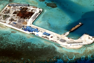China builds new islands in disputed waters