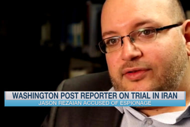 Washington Post reporter on trial in Iran