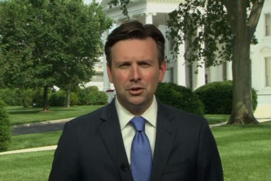 Josh Earnest reacts to Robert Gibbs' new gig
