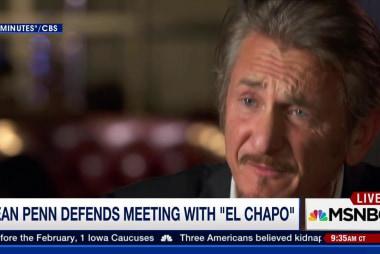Sean Penn defends meeting with 'El Chapo'