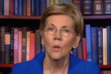 Elizabeth Warren sounds off on Donald Trump
