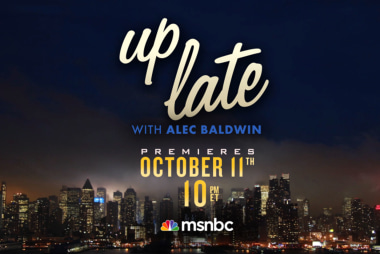 'Up Late with Alec Baldwin' coming Oct. 11th