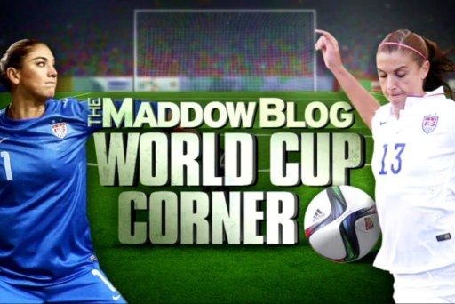 MaddowBlog World Cup Corner Episode 6