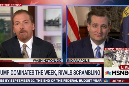 Cruz Says He's 'Surging' In Indiana