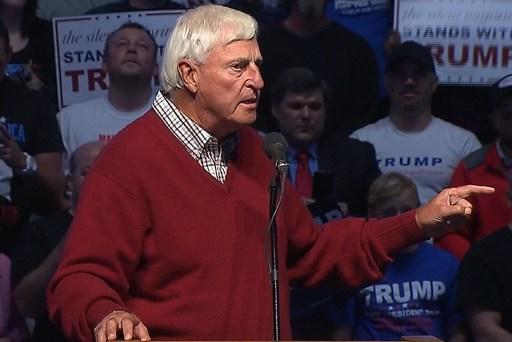 Bobby Knight endorses Donald Trump