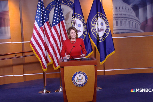 Pelosi: Hillary Clinton is playing the ...