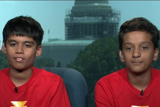 Spelling Bee winners show their smarts