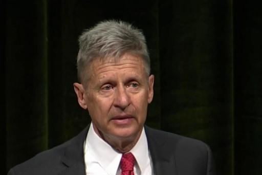 Libertarians choose Gary Johnson as nominee