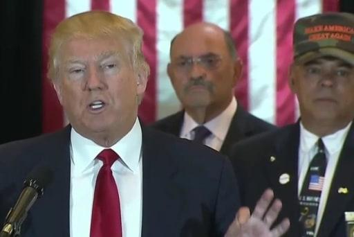 Donald Trump lashes out at media