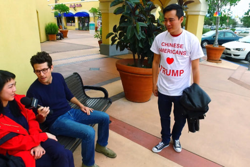 Asian Americans stump for Trump