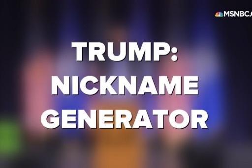 Trump: Nickname generator