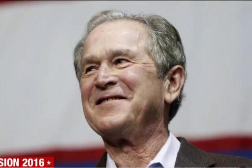 George W. Bush aids troubled GOP senators