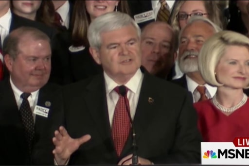 Gingrich a model for moneymaking campaigning