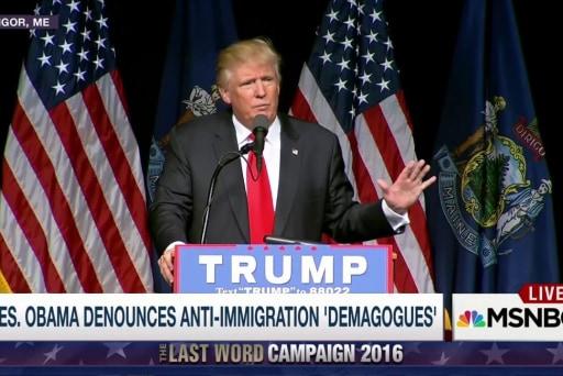 The world has no confidence in Trump