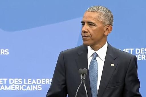 Pres. Obama fires back at Trump's rhetoric