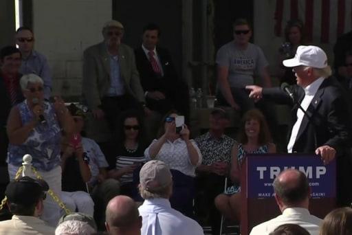 Trump fails test of constituent interaction