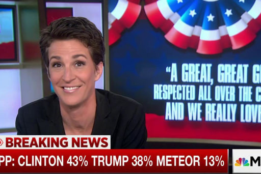 Meteor does well against Clinton, Trump: poll