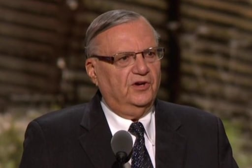 """Sheriff Arpaio: """"Trump will build the wall"""""""