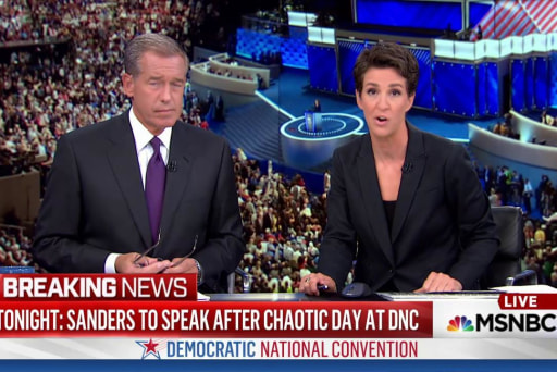 Sanders loses control of angry supporters