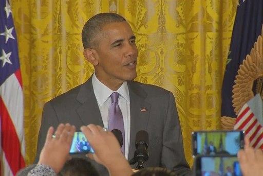 Obama: Americans must 'reject discrimination'