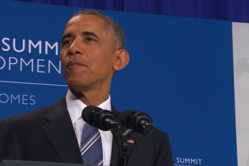 Obama on importance of global development