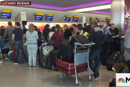 Delta Airlines facing global system outage