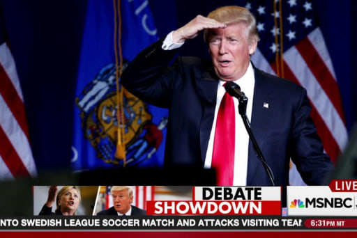 Who will play Trump in debate prep?
