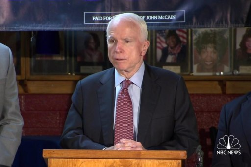 McCain: 'Obama national security failure'