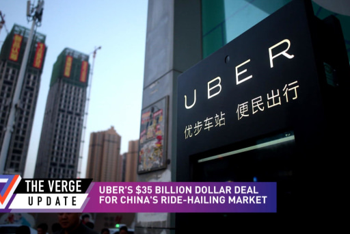 Uber drives out of China