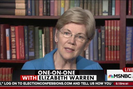 One-on-one with Elizabeth Warren