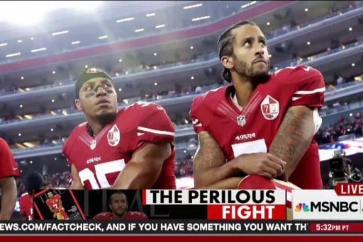 Why the NFL protests aren't going away