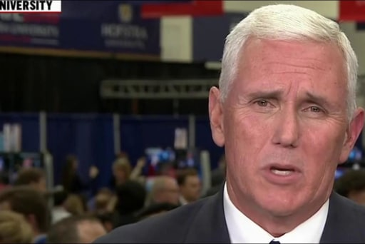 Pence outlines Trump's debate strategy