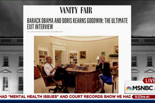 Doris Kearns Goodwin on Obama exit interview